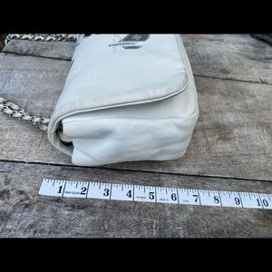CHANEL Bags - Authentic Chanel Runway Whites/Silver  Bag Rare!
